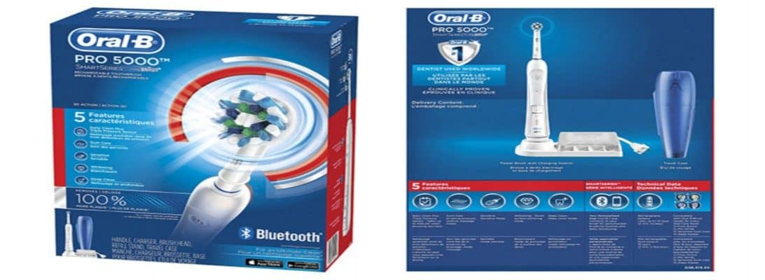 Our Oral-B Pro 5000 Electric Toothbrush Review