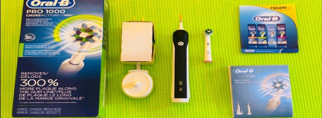 Our Oral-B Pro 1000 Electric Toothbrush Review