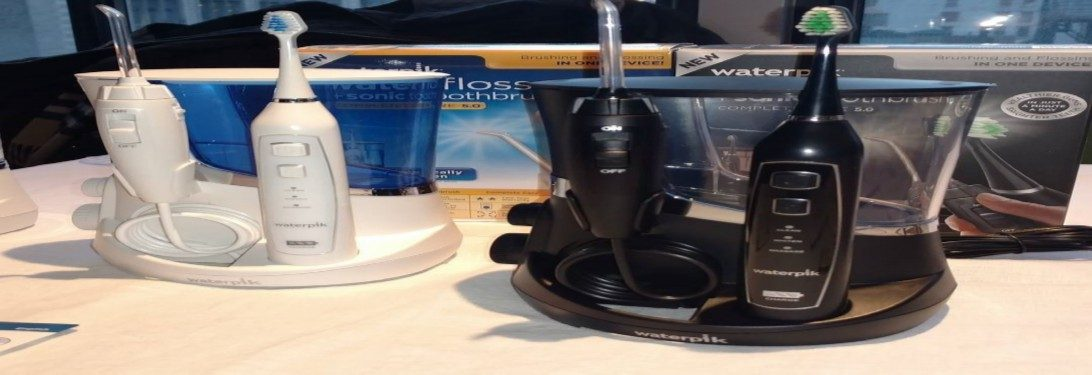 Do you brush your teeth before or after using a waterpik?