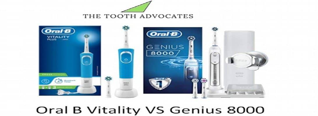 Oral B Vitality VS Genius 8000