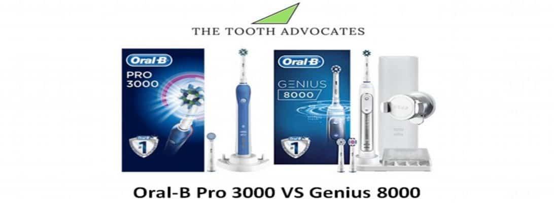 Oral-B Pro 3000 VS Genius 8000