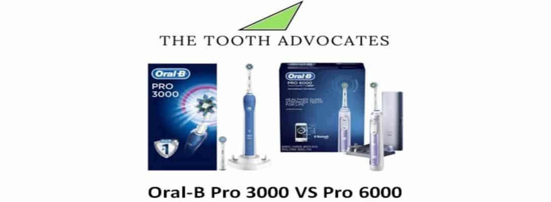 Oral-B Pro 3000 VS Pro 6000