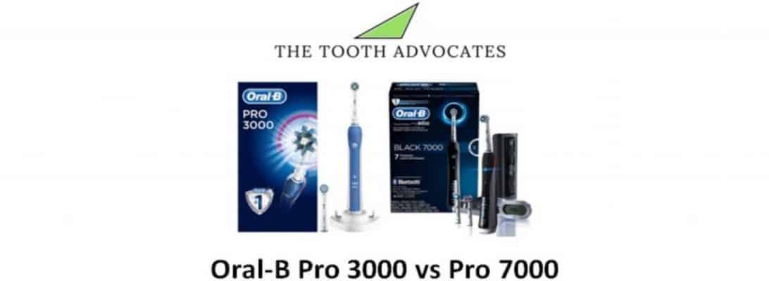 Oral-B Pro 3000 VS Pro 7000