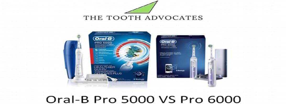 Oral-B Pro 5000 VS Pro 6000